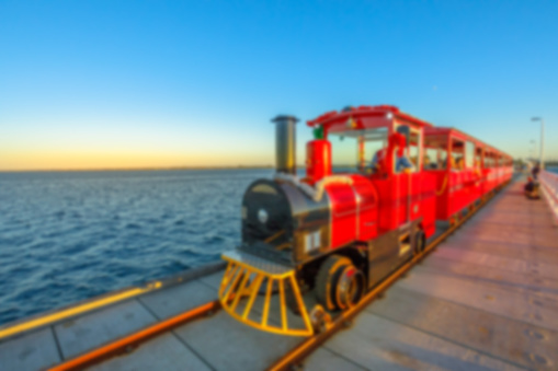 Busselton vintage red train