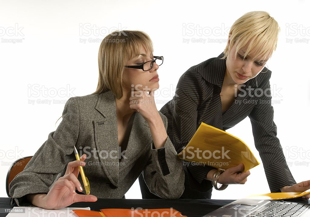Bussines women royalty-free stock photo