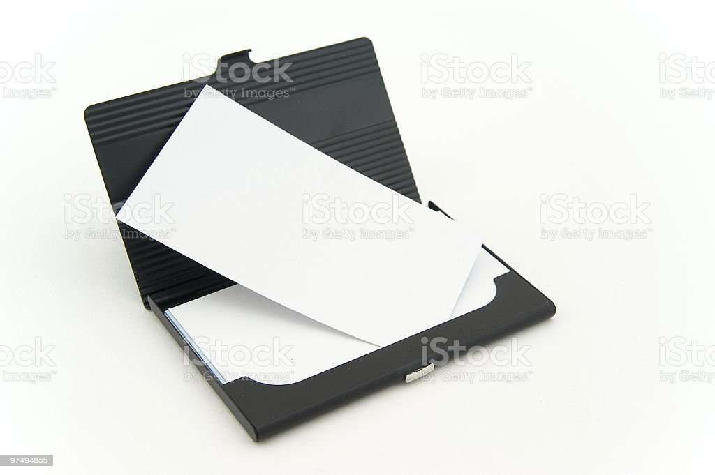 bussiness card box royalty-free stock photo