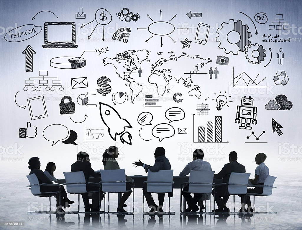 Bussiness Discussion stock photo