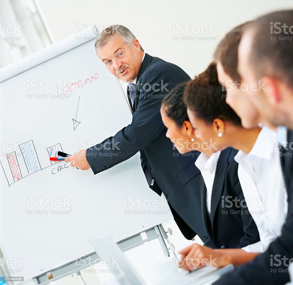 Bussiness meeting royalty-free stock photo