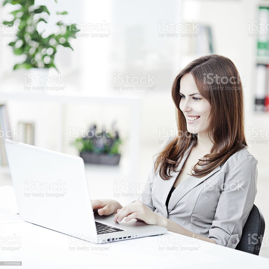Bussineswoman royalty-free stock photo