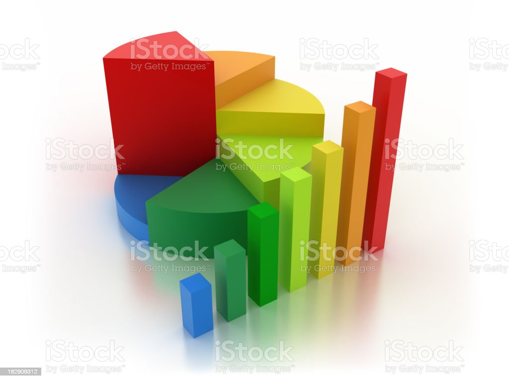 Bussniss Graph stock photo