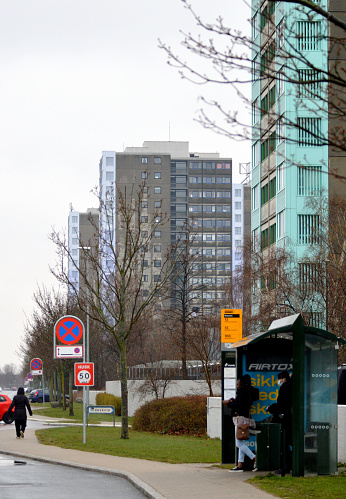 The area of Brøndby Strand is known for having various social problems: many of the inhabitants are unemployed. Most people living in this area are immigrants or Danes with immigrant parents.
