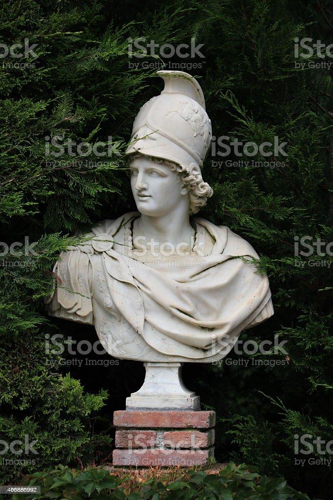 Busto de Alexandre o Grande - foto de acervo