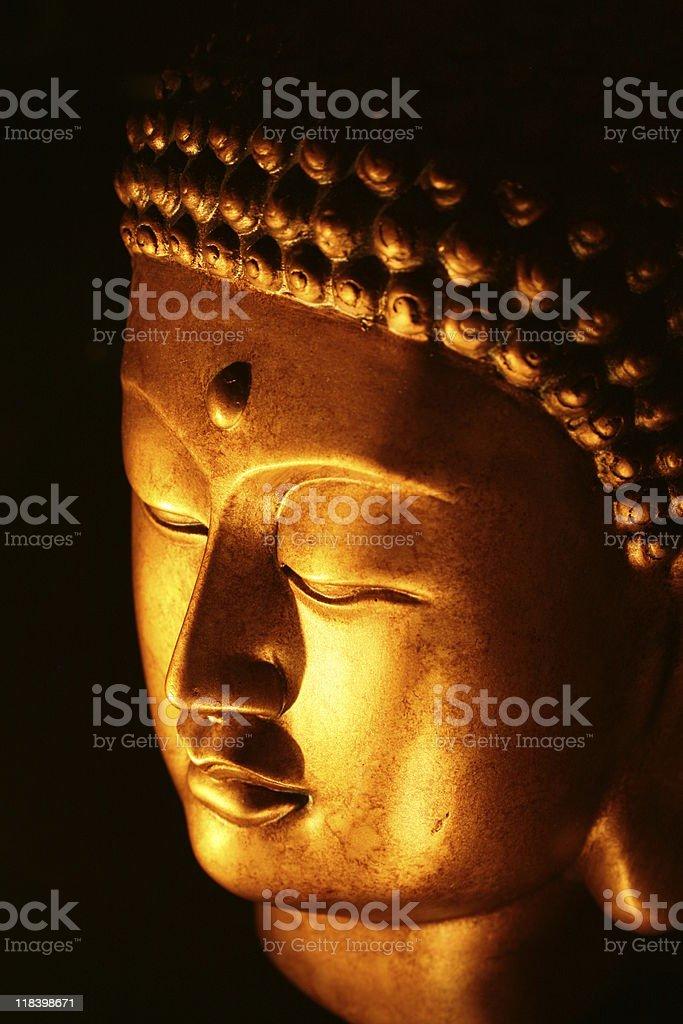 Büste von Buddha Gesicht – Foto