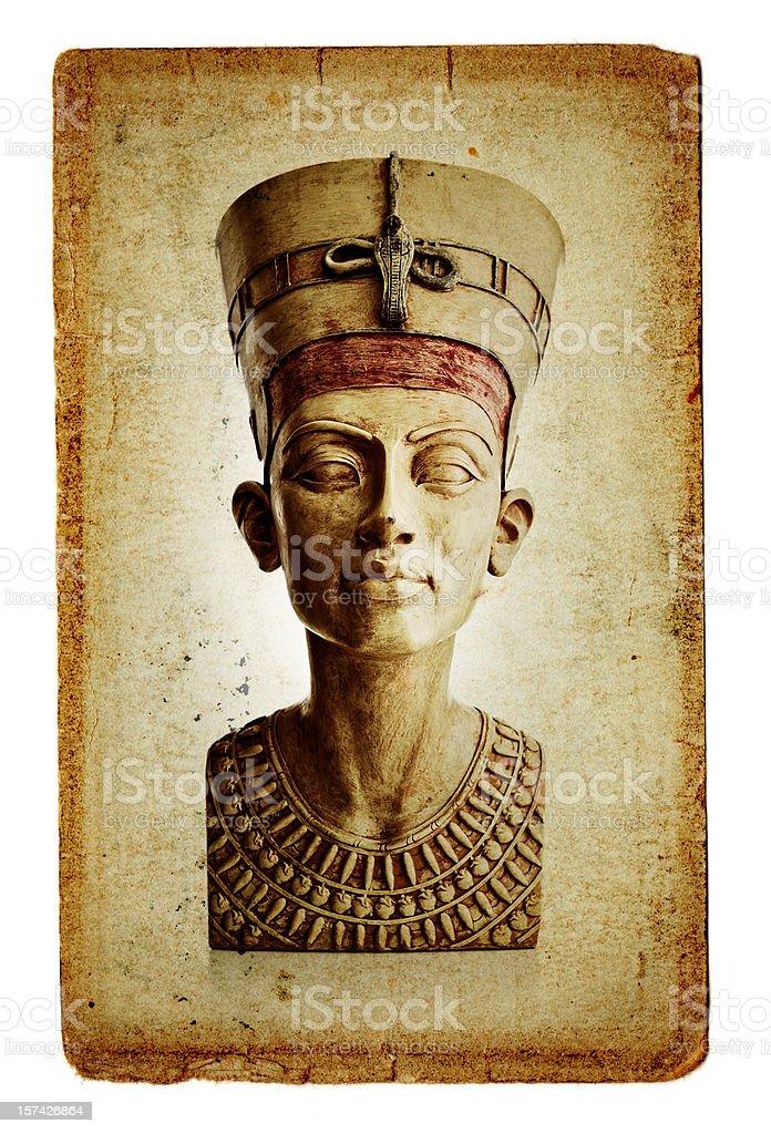 bust of Nefertiti stock photo