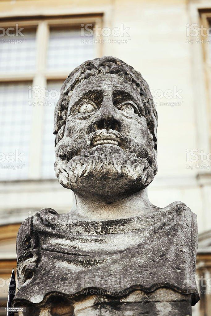 Büste des alten Statue Lizenzfreies stock-foto