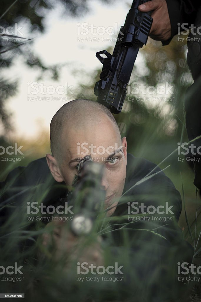 Busted royalty-free stock photo