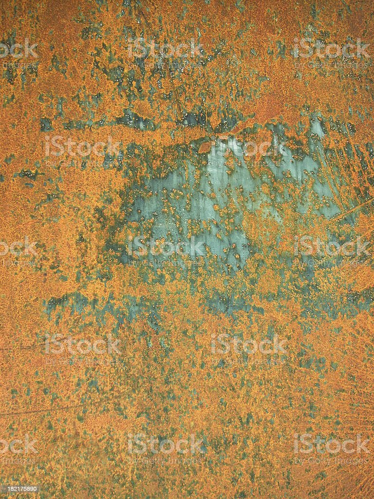 Busted & rusty iron plate - [ 03 ] royalty-free stock photo