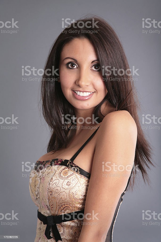 Bustier stock photo