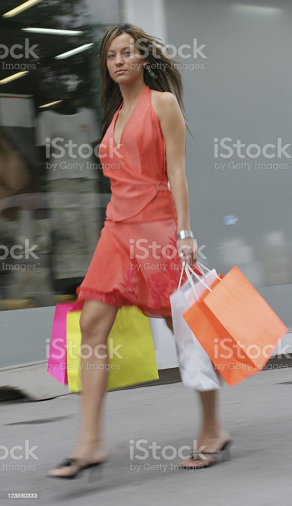 Busy and quick royalty-free stock photo