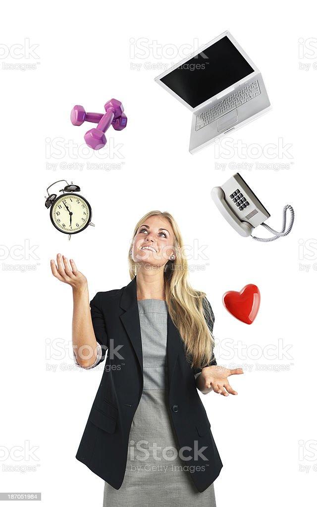 Fotografía de Mujer De Negocios De Estilo De Vida Agitado De ...