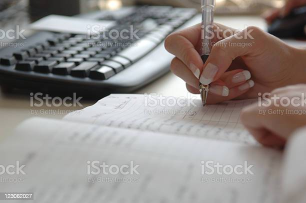 Busy Businesswomans Schedule Stock Photo - Download Image Now