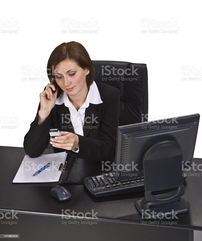 Busy Call royalty-free stock photo