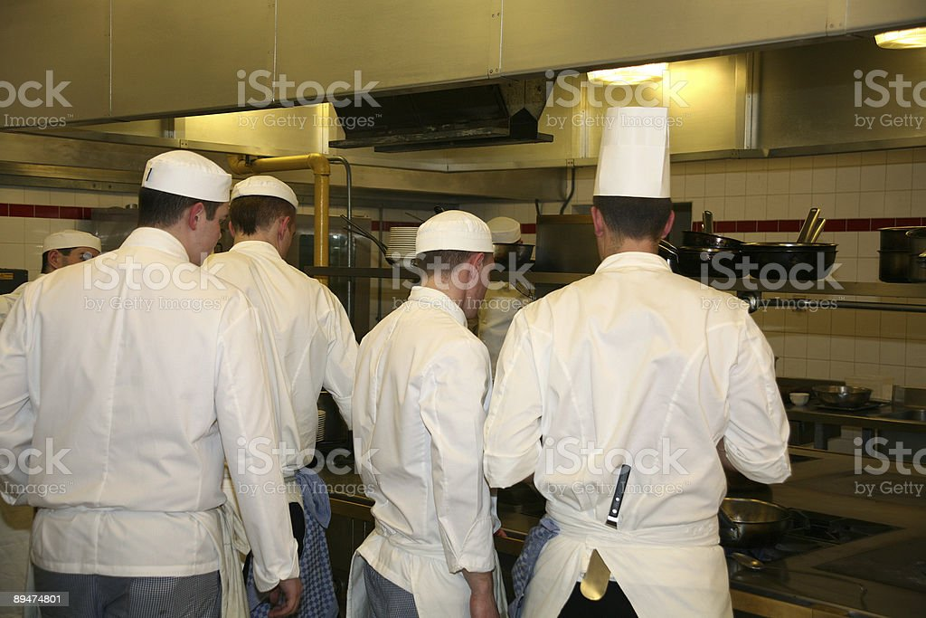 Busy Chefs2 royalty-free stock photo