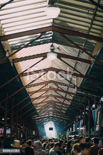 istock Busy Day At Queen Victoria Market 699945084