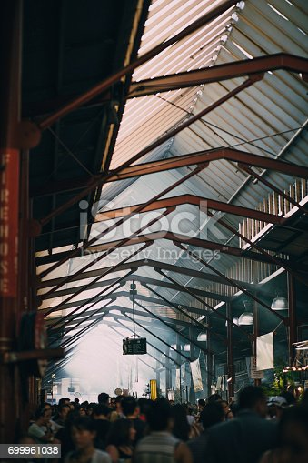 istock Busy Day At Queen Victoria Market 699961038