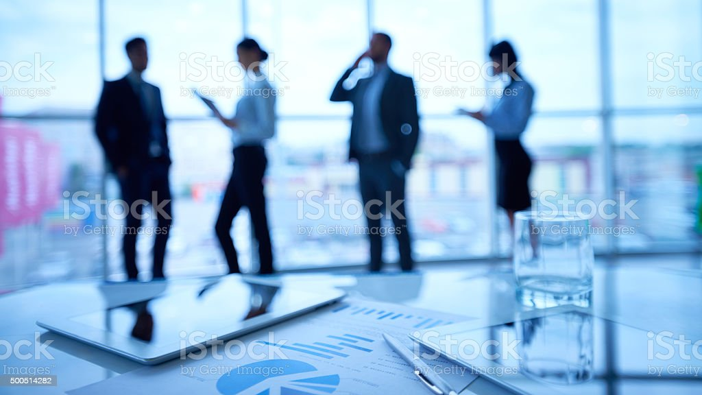Busy day stock photo