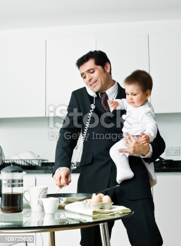 istock Busy in the morning 109725630