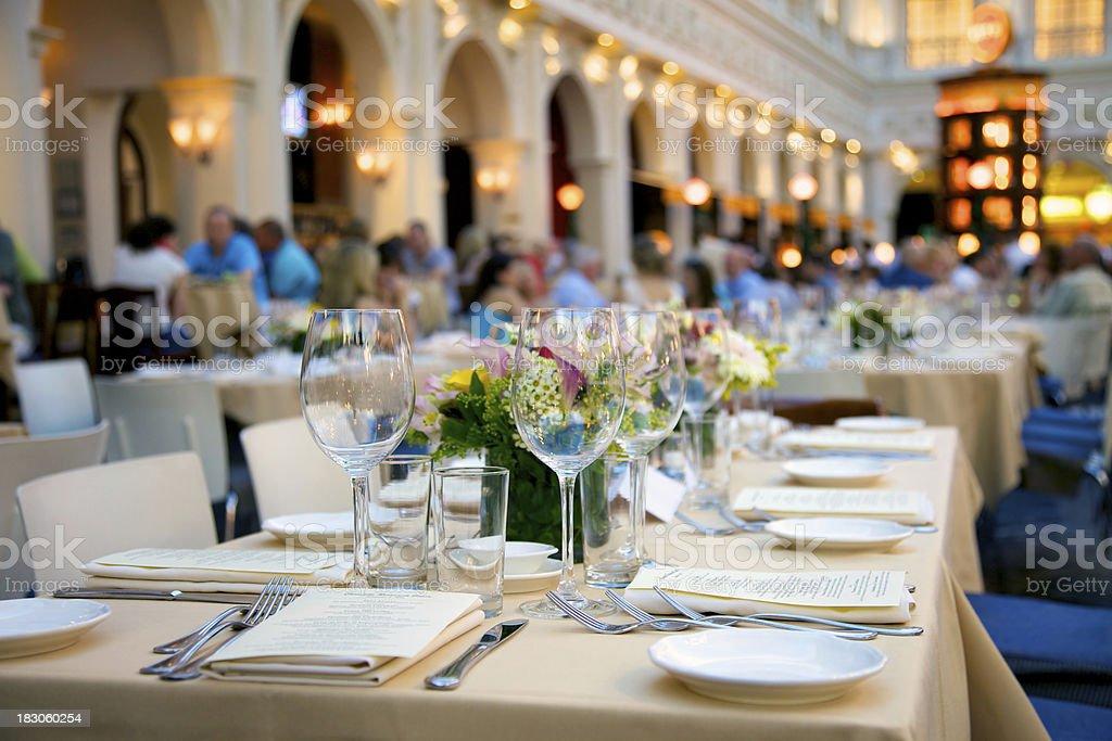 Busy Italian Restaurant royalty-free stock photo