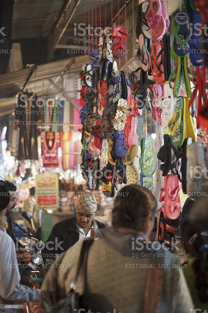 Busy Night Market royalty-free stock photo