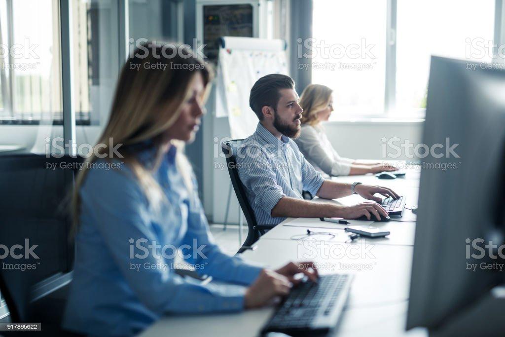 Beschäftigt Büro Leben – Foto