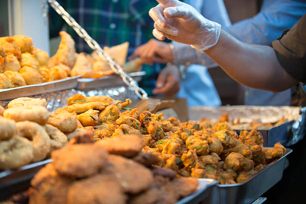 177 Indian Street Food Samosa And Pakora Stock Photos, Pictures &  Royalty-Free Images - iStock