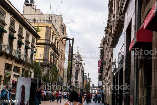 Photo of Busy street in MexicoDF