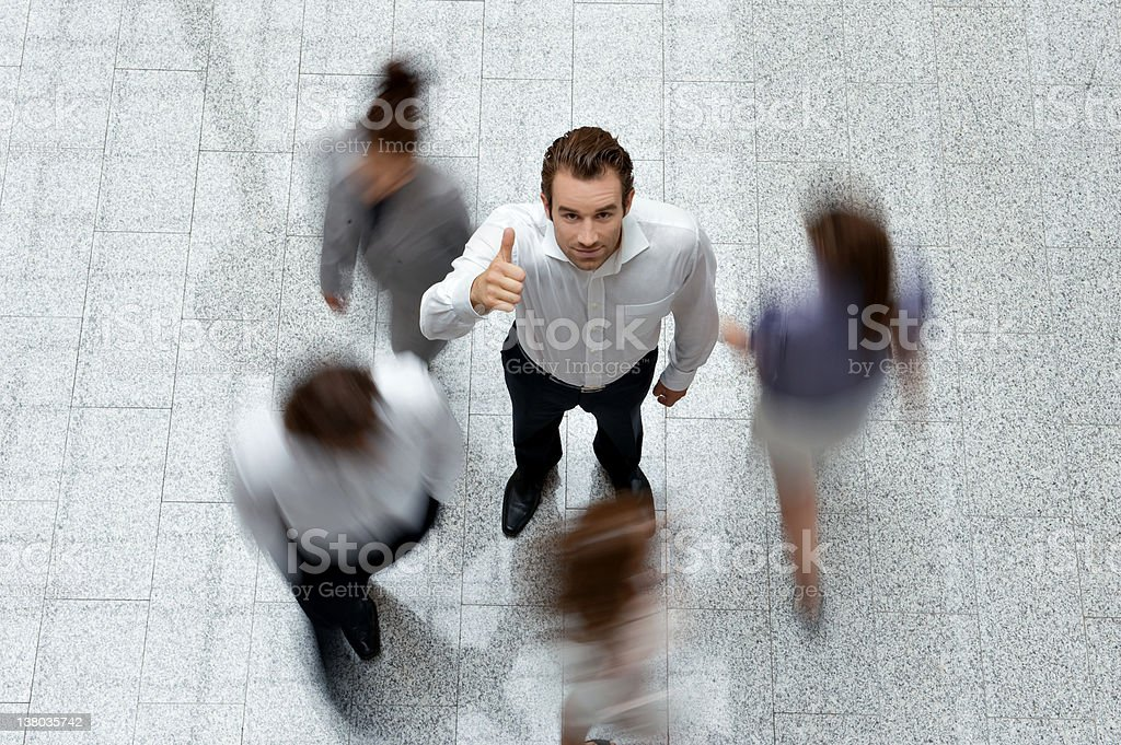 Busy Successful Life royalty-free stock photo