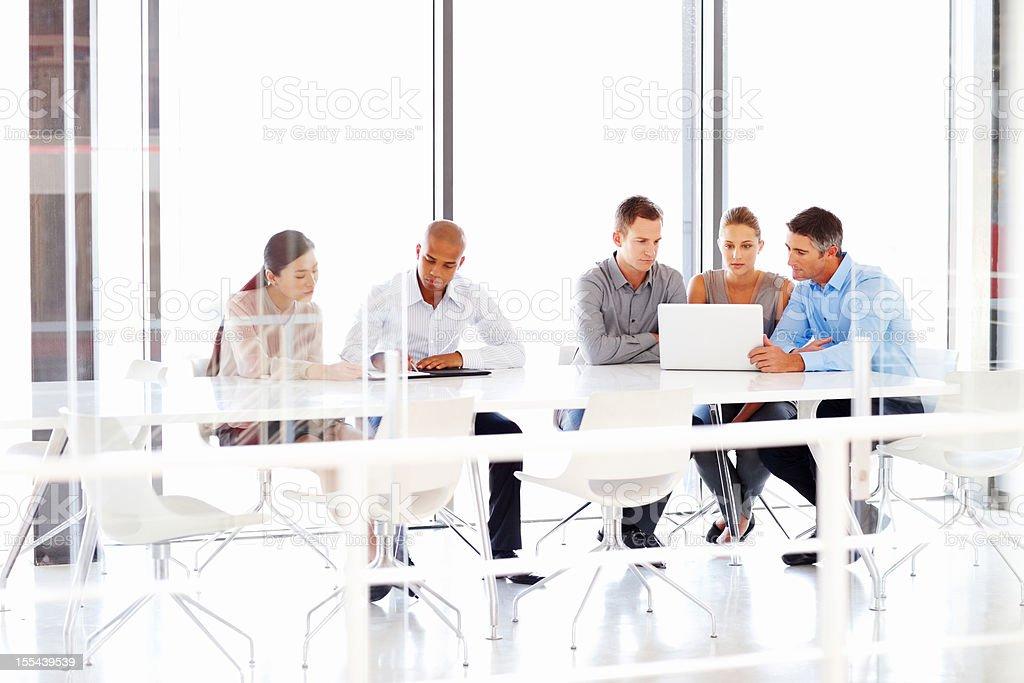 Anstrengenden Business Team von Managern - Lizenzfrei Afrikanischer Abstammung Stock-Foto