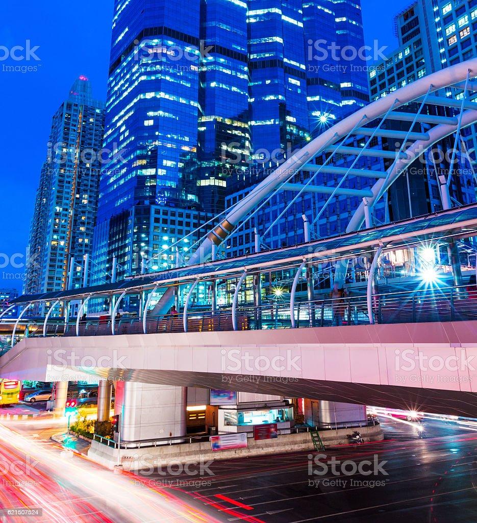 Busy traffic in Bangkok Lizenzfreies stock-foto