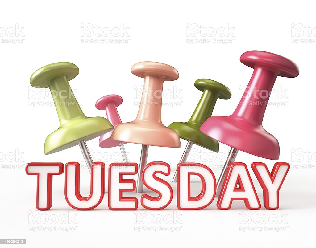 Busy Tuesday stock photo