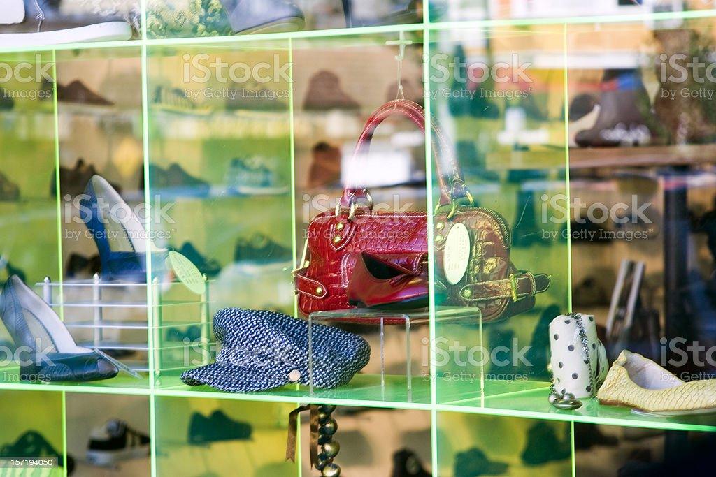 Busy Window stock photo
