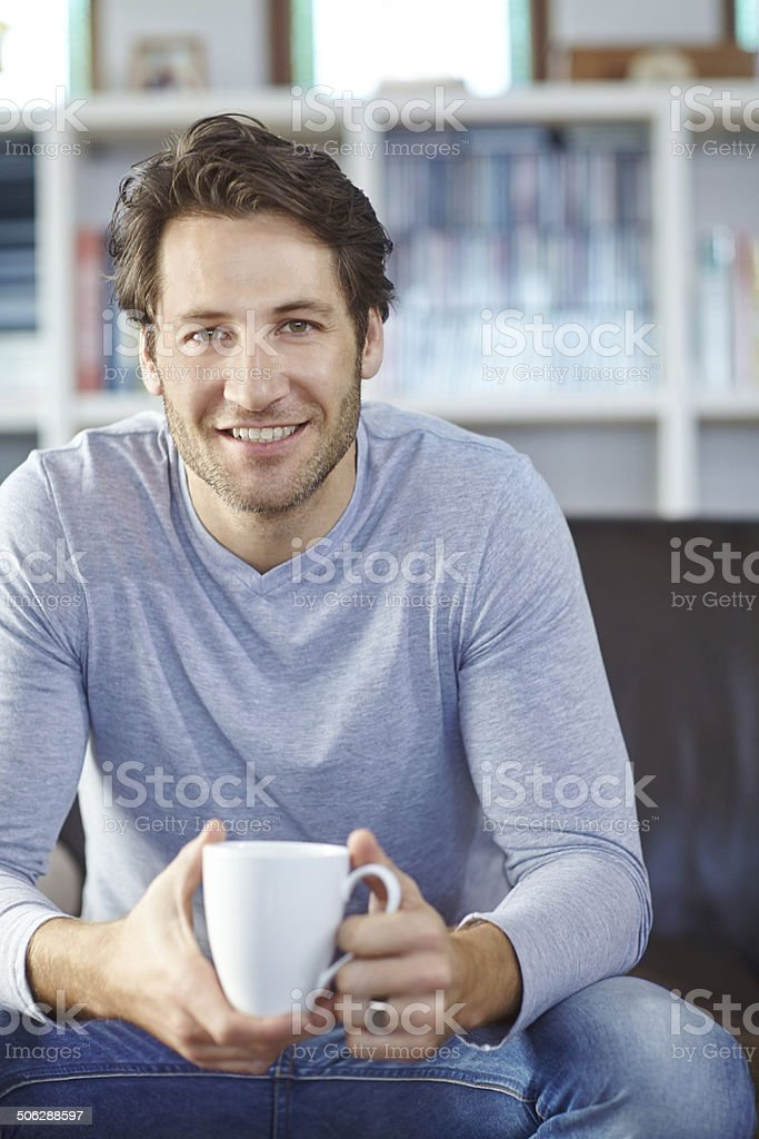 But first, coffee stock photo