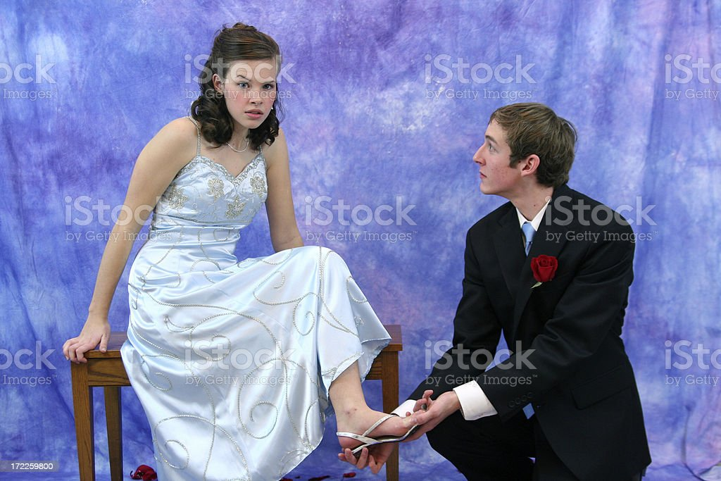 but it IS my glass slipper stock photo