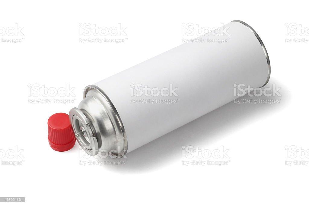 Butane Gas Cartridge stock photo
