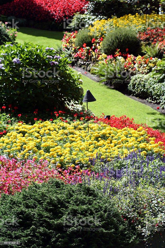 Butchart Garden royalty-free stock photo