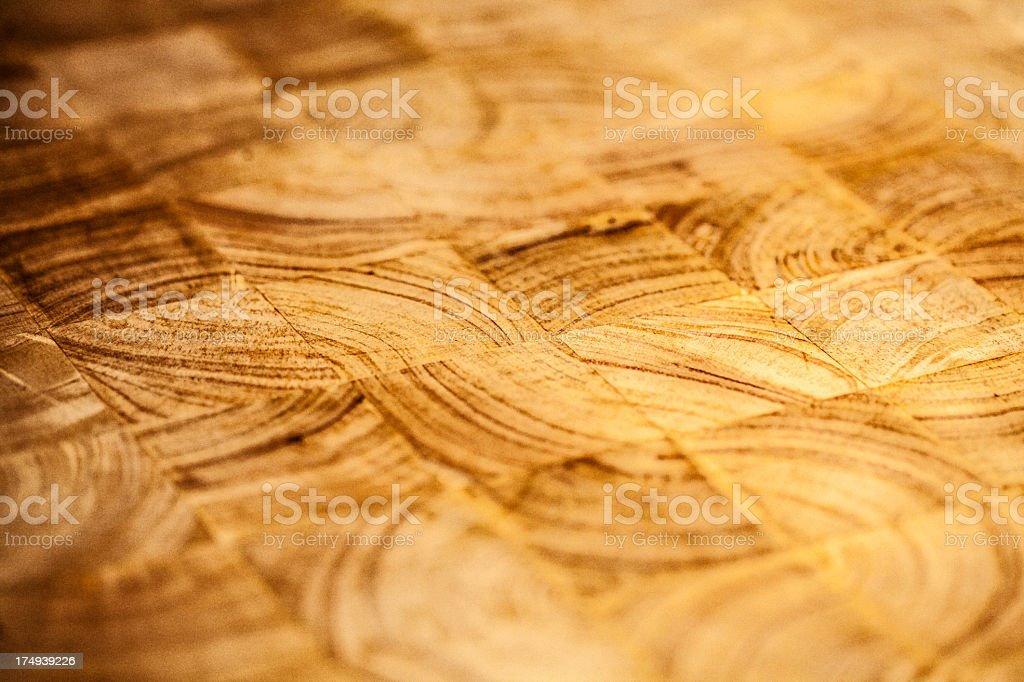 Butcher Block royalty-free stock photo
