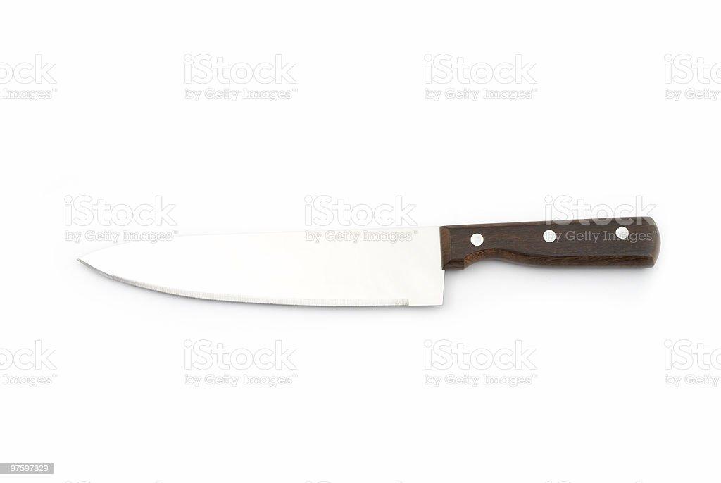 Butcher Knife royalty-free stock photo