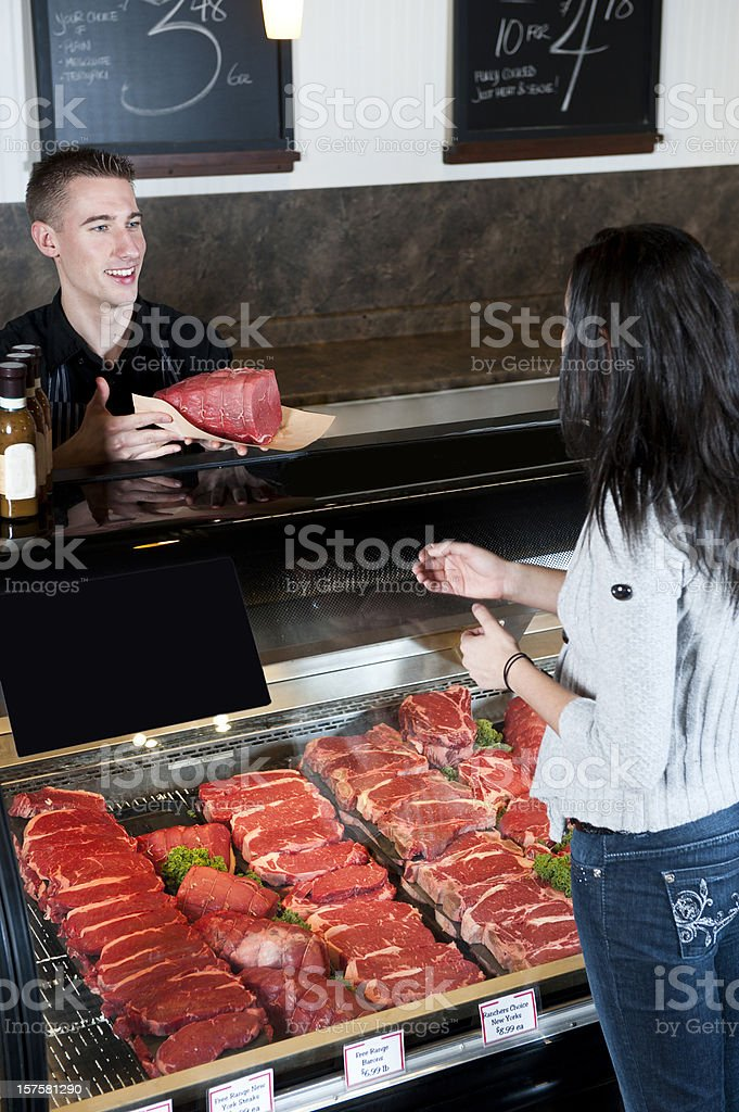 Butcher royalty-free stock photo