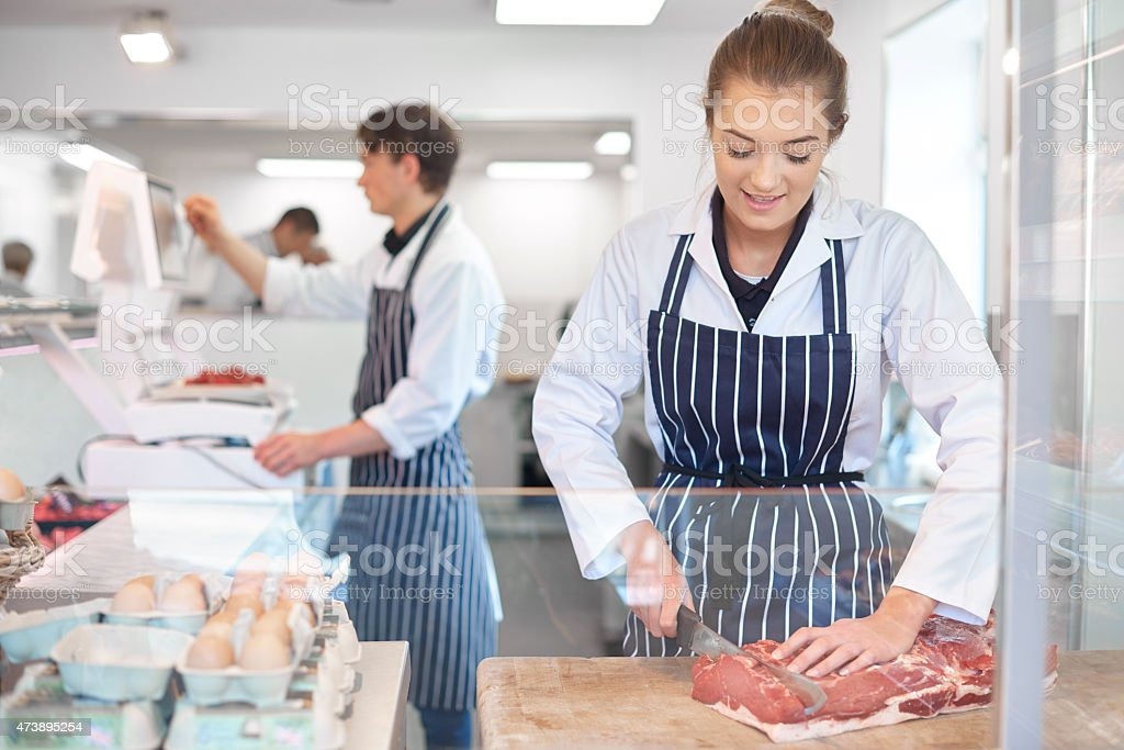 Butchers Shop Stock Photo & More Pictures of 2015 - iStock