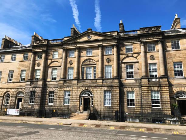 Bute House Edinburgh stock photo