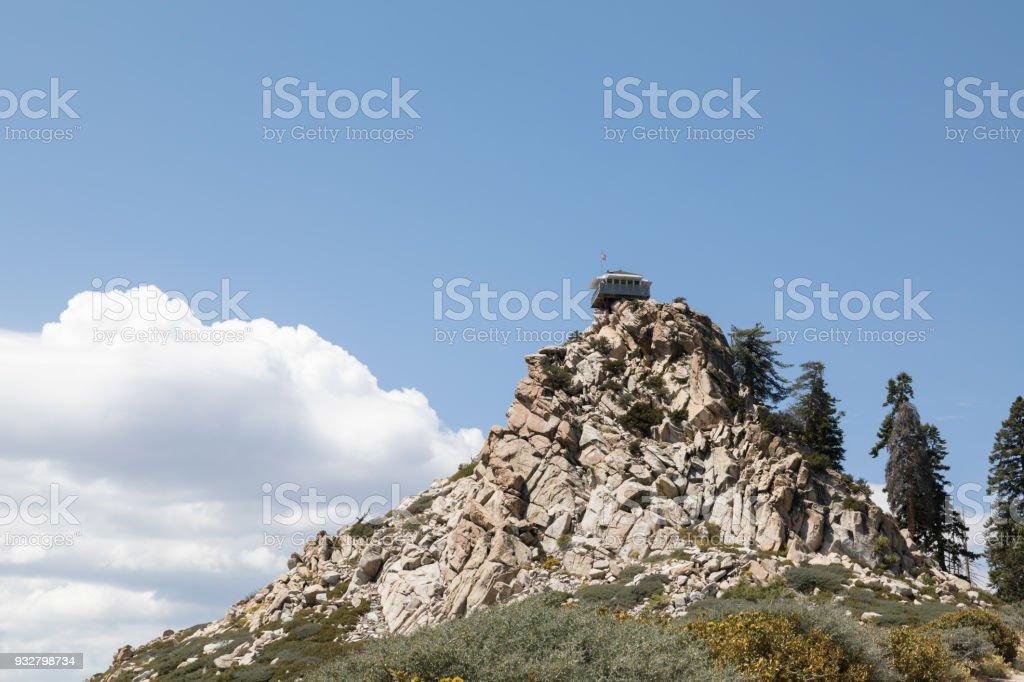Butler Peak Lookout stock photo