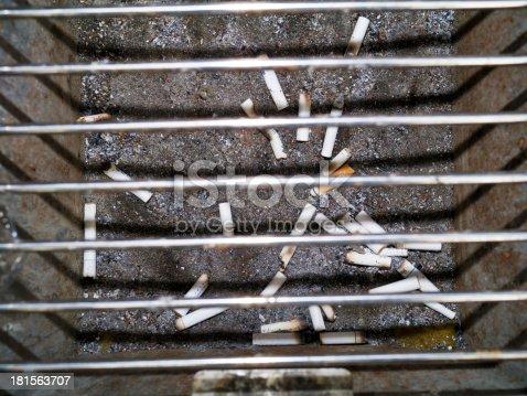 istock butt cigarette in ashtray 181563707