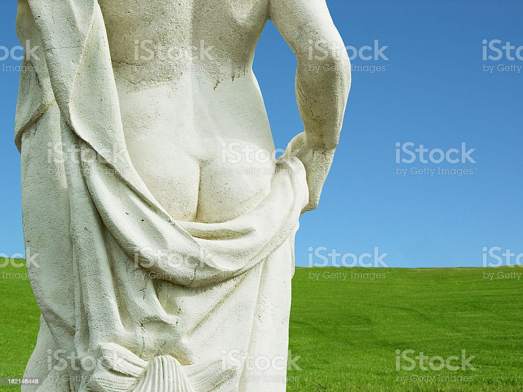 butt out royalty-free stock photo