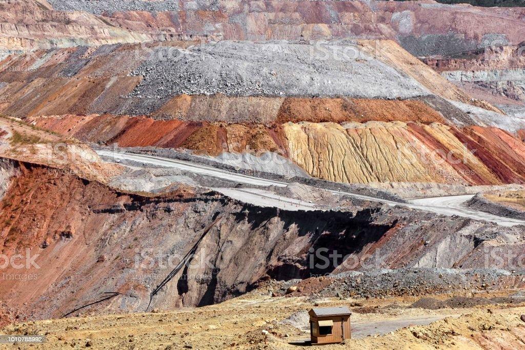 Butte Quarry stock photo