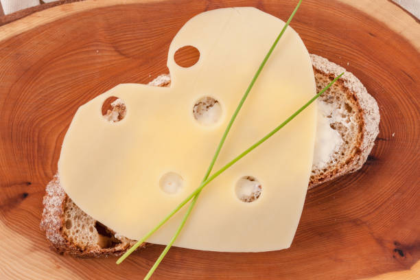 Butterbrot Mit Kaese stock photo