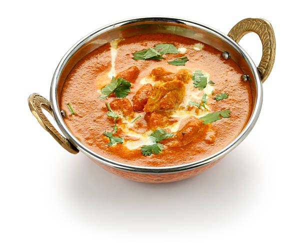 butter chicken , indian cuisine butter chicken , indian cuisine butter chicken stock pictures, royalty-free photos & images