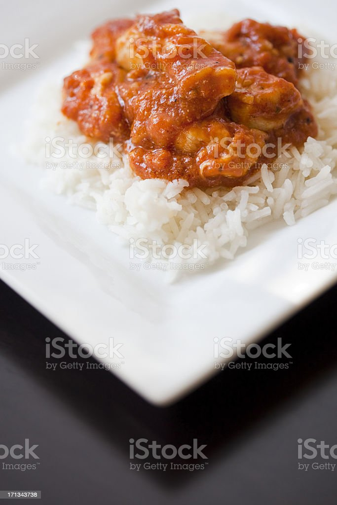 Butter Chicken royalty-free stock photo